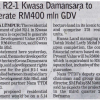 Borneo Post KK - 3rd Dec