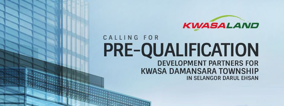 Kwasa Land Sdn. Bhd. 2015 Pre-qualification for development partners